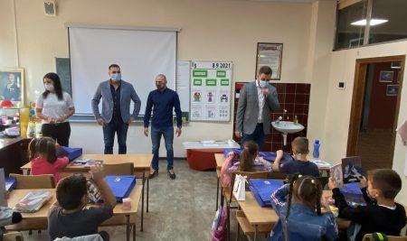 Општина Вождовац за ђаке прваке